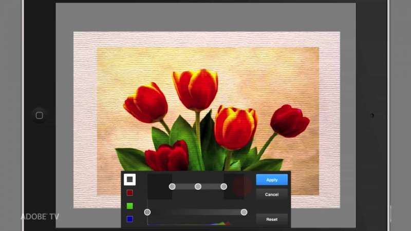 Creating a Watercolor Painting with Adobe Photoshop Touch