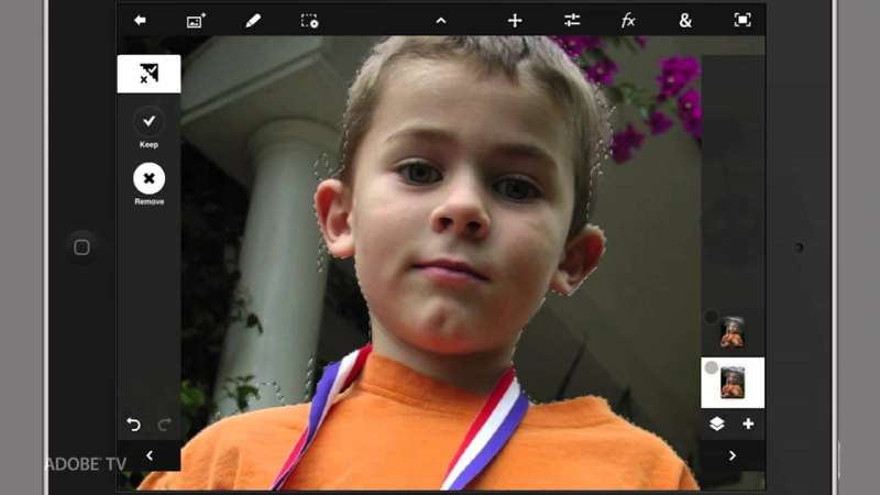 Enhancing Images in Adobe Photoshop Touch