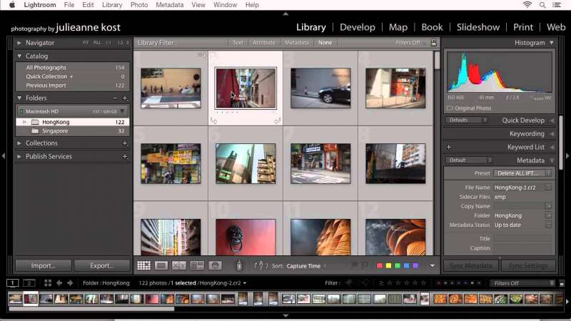 Quick Tip – Adding Copyright and Contact Information to Photographs in Lightroom
