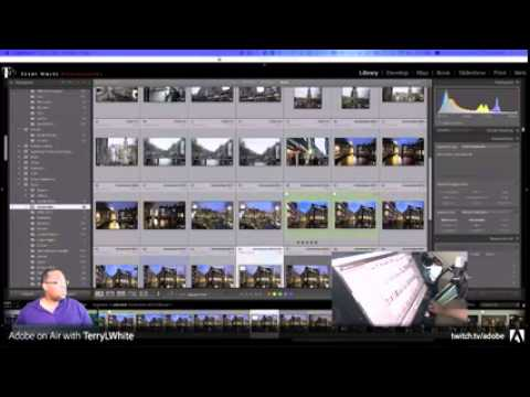Terry White Live: The Lightroom & Photoshop CC Show