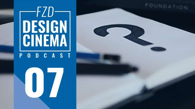 Design Cinema Podcast EP 7 – What to Draw