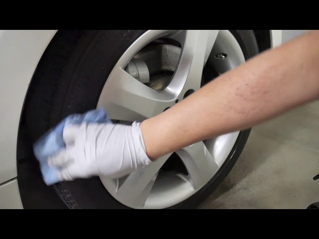 How to clean and wax wheels easily, DIY